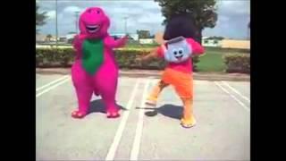 getlinkyoutube.com-Dora and barney twerking enjoy like and subscribe