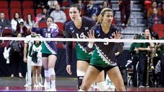 getlinkyoutube.com-Rainbow Wahine Volleyball 2015 - Hawaii Vs Minnesota