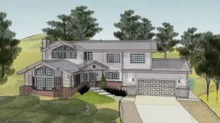 getlinkyoutube.com-SketchUp 3D House Animation in HD