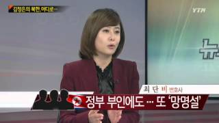 getlinkyoutube.com-김정은의 북한 어디로...[강명도, 교수·최단비, 변호사·안찬일, 소장] / YTN