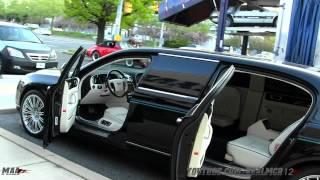 getlinkyoutube.com-Bentley Continental Flying Spur Limousine