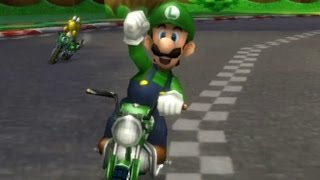 getlinkyoutube.com-Mario Kart Wii - 150cc Banana Cup Grand Prix (Luigi Gameplay)