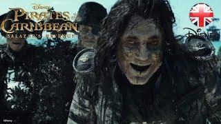 PIRATES OF THE CARIBBEAN | Salazar's Revenge CLIP - Ghosts | Official Disney UK