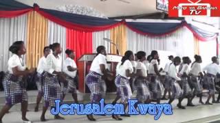JERUSALEM KWAYA--- WEWE NI MUNGU (wimbo wao mpya wakiimba kwa mara ya kwanza) MITO YA BARAKA CHURCH