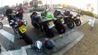 getlinkyoutube.com-SYDNEYS RIDERS Group Ride - The night I crashed my R1