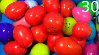 getlinkyoutube.com-30 surprise eggs! Disney CARS MARVEL SpiderMan THOMAS SpongeBob HELLO KITTY Kinder ANGRY BIRDS