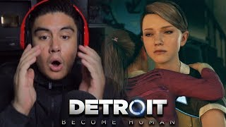 THIS EPISODE HAD ME SO SHOOK I HAD TO RETHINK MY LIFE | Detroit: Become human [4]