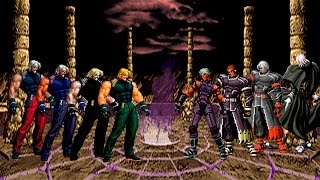 getlinkyoutube.com-Kof Mugen Omega Rugal 98, Rugal 2002, Rugal 2002 UM & Omega Rugal Boss vs Nests Boss Team