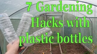 getlinkyoutube.com-7 Gardening Hacks with Plastic Bottles - Simple, Free and Extremely Effective!