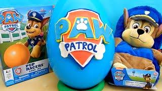getlinkyoutube.com-Paw Patrol EPIC Surprise Egg Rescue Marshall Spy Chase Toys