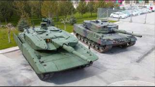 getlinkyoutube.com-Leopard 2 Tank Updates for 2010/11 inc Leopard 2A4M CAN Leopard 2 Evolution