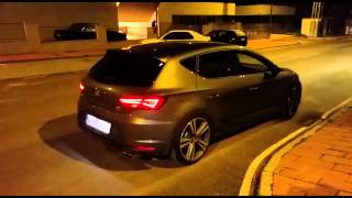 getlinkyoutube.com-Leon Cupra TSI MK3 downpipe sound