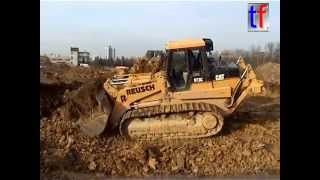 getlinkyoutube.com-2x Caterpillar 973C @ Work / Aushub Stuttgart-Fasanenhof, Germany, 28.11.2006.