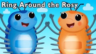getlinkyoutube.com-Silly Bugs Make a Friend | Ring Around the Rosy and More | Baby Songs from Mother Goose Club!