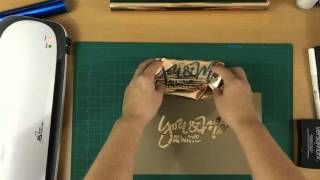 getlinkyoutube.com-Foiling Your Lettering!