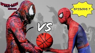 getlinkyoutube.com-Spiderman Basketball Episode 7 ...Spiderman vs Carnage... SuperHero bball