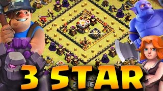 getlinkyoutube.com-HOW TO 3 STAR TH10 - TH11 SQUARE/RING BASES WITH GOVABO/BONER | Clash of Clans