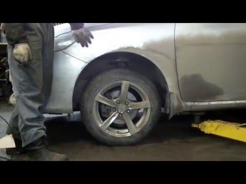 Toyota Corolla увеличиваем клиренс Виктор Ulanov motors