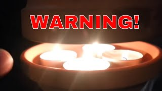getlinkyoutube.com-WARNING! - Flower Pot Candle Heater - RISK OF DEATH! - Very Dangerous Device That Can Flash Flare!