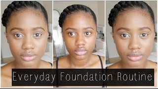 getlinkyoutube.com-Everyday Foundation Routine | 2015