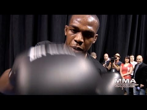 "UFC 128's Jon ""Bones"" Jones Training: Boxing, Muay Thai & BJJ"