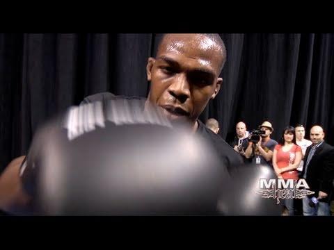 "UFC 128's Jon ""Bones"" Jones Training: Boxing, Muay Thai & BJJ"