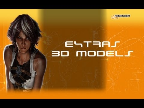 Remember Me - All 3D Models Extra's