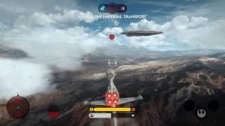 getlinkyoutube.com-Star Wars Battlefront - Piloting a B-Wing