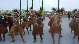 getlinkyoutube.com-Gema Chandra Choir of Jayapura, Indonesia in front of US Bank Arena, Cincinnati