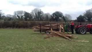 Siromer - TeRaW Timber Trailer Loading