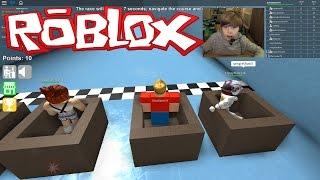 getlinkyoutube.com-Roblox Epic Minigames - MY ARM FELL OFF!!! | KID GAMING