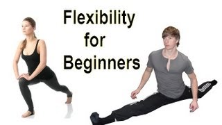 getlinkyoutube.com-Flexible in 5 Minutes: Daily Beginner Stretching Routine!