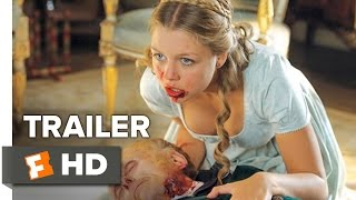 getlinkyoutube.com-Pride and Prejudice and Zombies Official Trailer #1 (2016) - Lily James Horror Movie HD