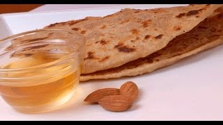 Sweet Coconut and Oats Paratha ..