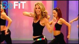 getlinkyoutube.com-Fat-Burning Cardio Dance Workout: Denise Austin