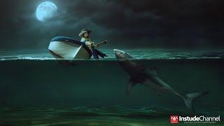 getlinkyoutube.com-PHOTO MANIPULATION TUTORIAL SHARK ATTACK BY INSTUDECHANNEL