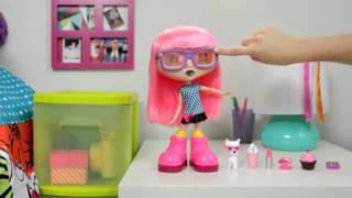 getlinkyoutube.com-Интерактивная кукла Chatsters (Чатстерс)