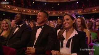 getlinkyoutube.com-BRAD PITT @2014 BAFTAs film awards FULL HD cut.