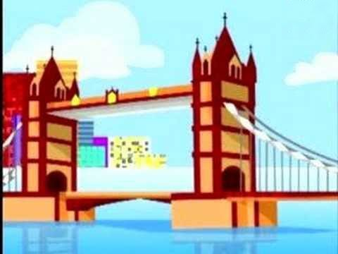 English Nursery Rhymes - London Bridge - Kids Song Video
