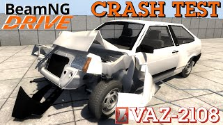 getlinkyoutube.com-BeamNG DRIVE crash test mod car VAZ 2108SSSR