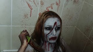 The Angry Princess from Thirteen Ghosts make-up tutorial