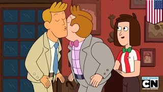 getlinkyoutube.com-Clarence gay kiss: Cartoon Network wimps out on animated men kissing