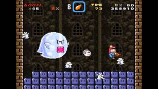 getlinkyoutube.com-VIP Mario [2-3] おばけ屋敷と親玉テレサ normal & secret exit + VIP coins HD