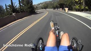getlinkyoutube.com-Lets Climb Hills on recumbent trikes