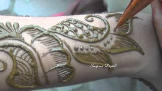 getlinkyoutube.com-Latest Mehndi Designs 2013 Step by Step #58