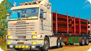 getlinkyoutube.com-Scania 143M ETS2 (Euro Truck Simulator 2)