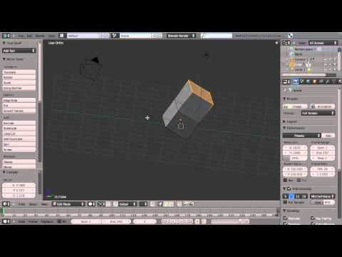 Getting started in Modeling with Blender - By Blender Cookie