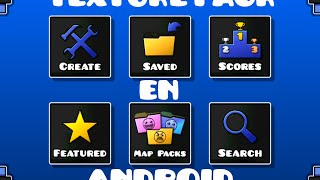 getlinkyoutube.com-TEXTURE PACK PARA GEOMETRY DASH EN ANDROID