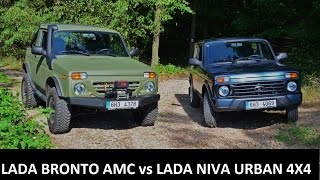 getlinkyoutube.com-LADA Bronto AMC vs LADA Niva Urban 4x4 AMC