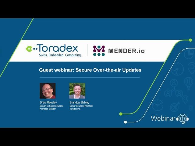 Mender and Toradex on Secure OTA Updates